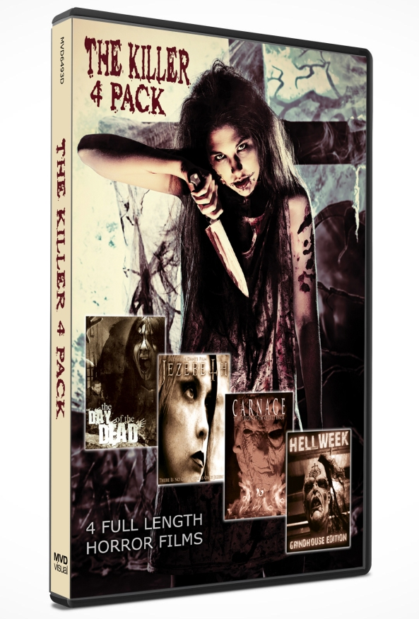 The Killer 4 Pack DVD
