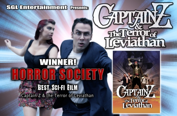 Captain Z and Horror Society Magazine