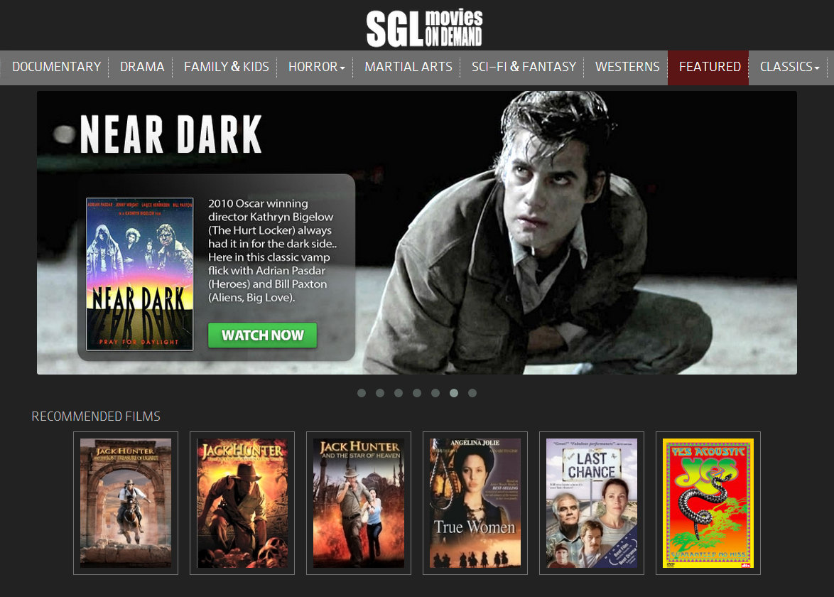 SGL Movies On Demand